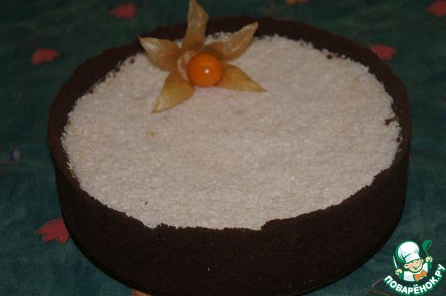 Кокосовый чизкейк с кусочками ананаса ингредиенты