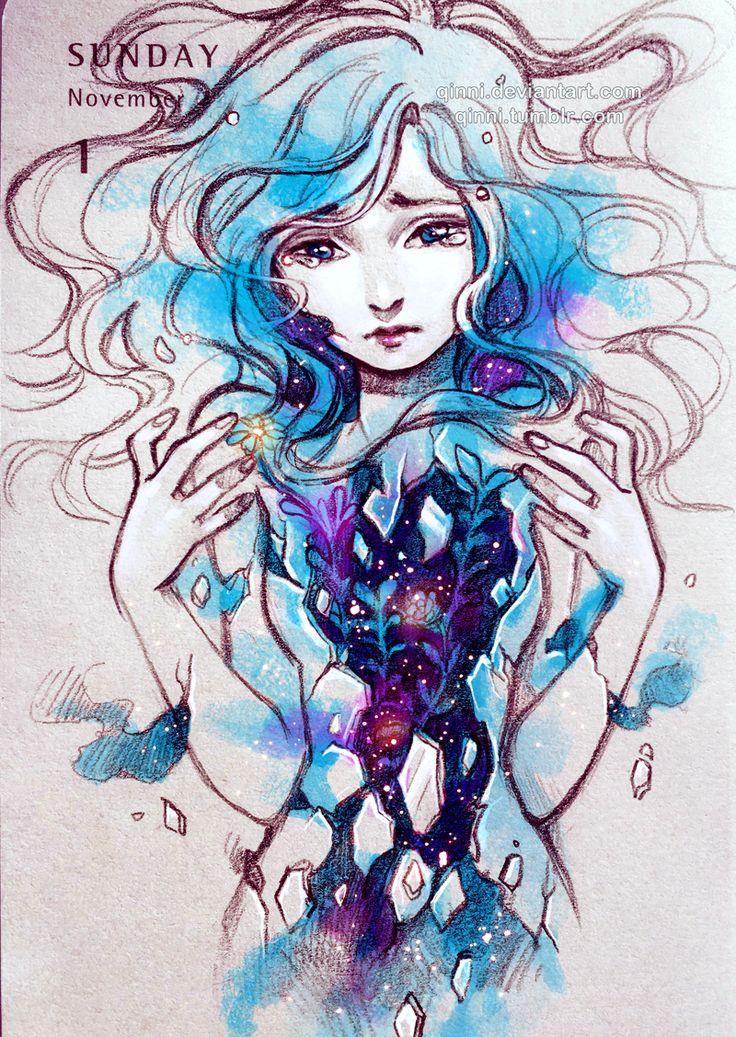 Chica cósmica <3