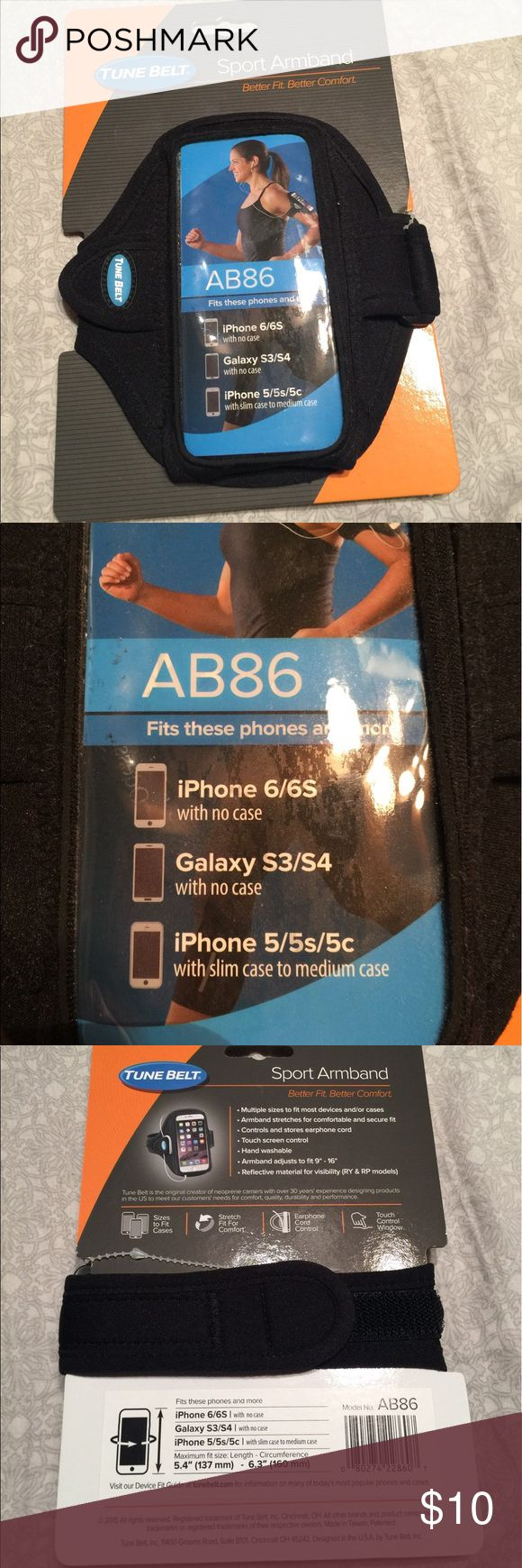 Phone armband Sports arm band to hold cell phone Accessories Phone Cases