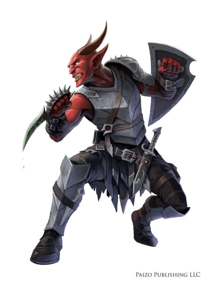 Pathfinder: Disciple of Shax by WillOBrien.deviantart.com on @DeviantArt