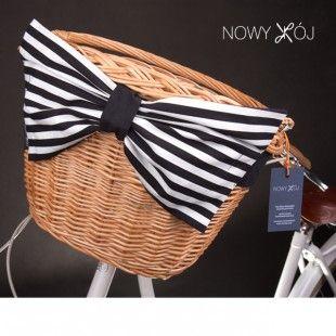 Wicker bike basket by nowykroj.pl