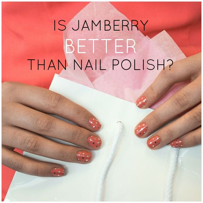 jamberry review:  is it better than nail polish? | via emmalinebride.com