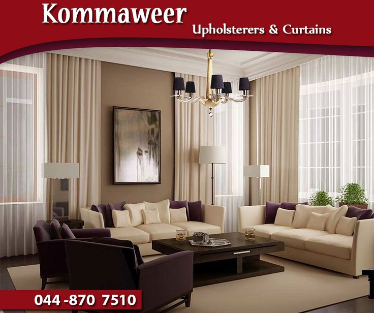 Create privacy and add unique character to any room in your home with custom-made curtains from #Kommaweer. Visit us or contact us on 044 870 7510. #curtains #lifestyle
