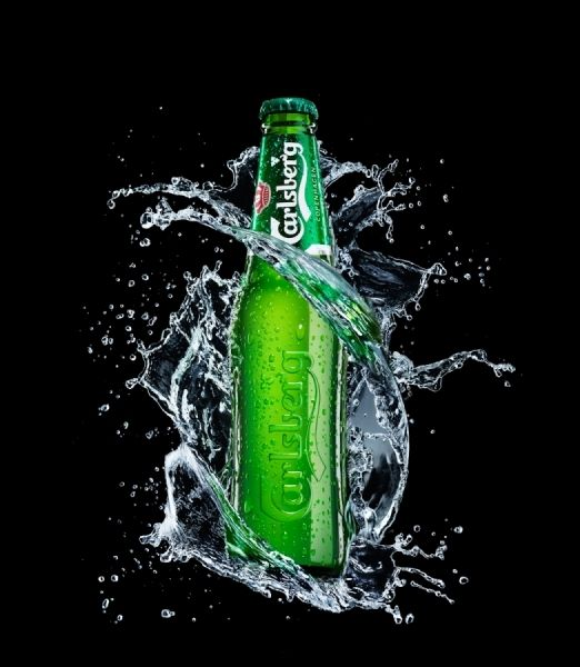 Carlsberg Profile Splash