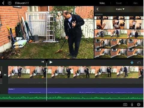 Videon editointi iPadilla - YouTube