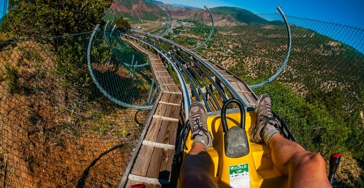 Canyon Flyer An Alpine Rollercoaster Glenwood Cavern