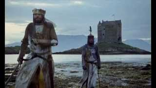 The 'New' Monty Python and the Holy Grail trailer. A great new trailer done by Stéphane Bouley – imagine Monty Python and the Holy Grail not as a comedy, but as a serious historical epic! This would be its trailer.