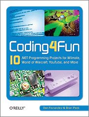 Coding4Fun gives you clear, step-by-step instructions for building ten creative projects.