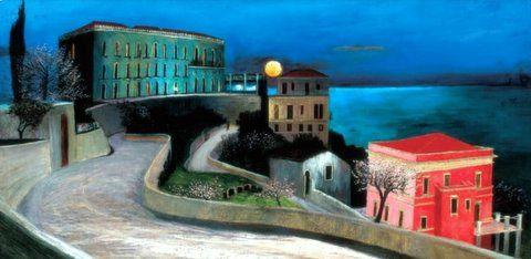 Csontváry Kosztka Tivadar: Holdtölte Taorminában