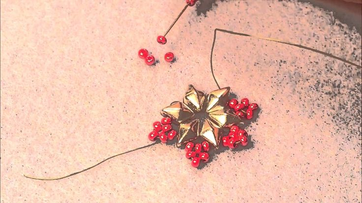 Tutorial: DiamonDuo™ Snowflake Element in Crystal Cascade Bracelet  #Seed #Bead…