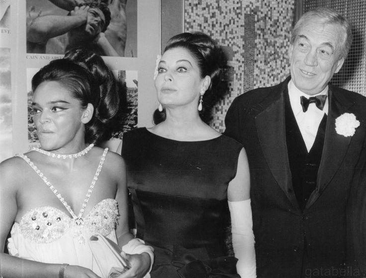 Ava Gardner and John Huston