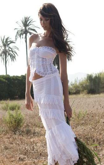 foto de vestido de novia ibicenco galeria de fotos de vestidos