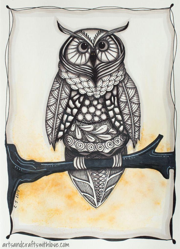 edc owl wallpaper