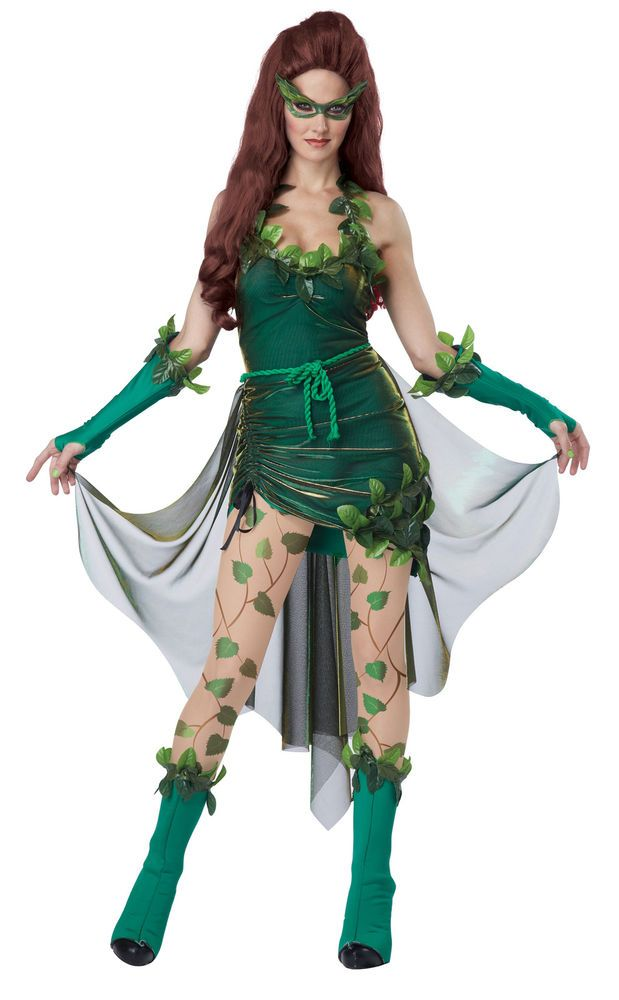 Adult Lethal Beauty Posion Ivy Costume by California Costumes 01289    eBay