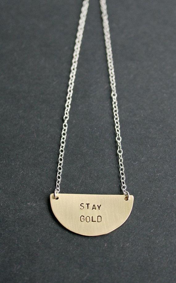A wearable reminder from Etsy seller OhSomeday. #etsyfinds