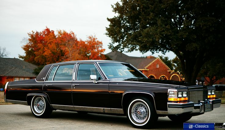 1989 cadillac fleetwood brougham classic cars. Black Bedroom Furniture Sets. Home Design Ideas