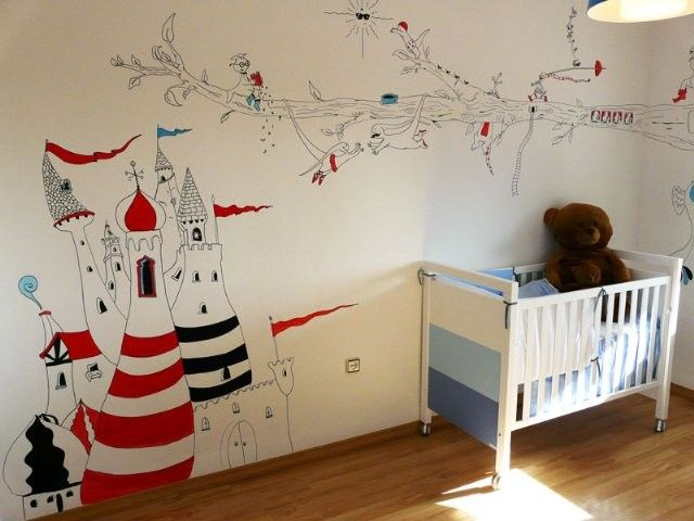81 best images about murales infantiles pintados y con vinilos on pinterest - Vinilos murales infantiles ...