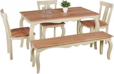 Wohnling WOHNLING Vintage Esszimmertisch ANGORI Weiß massiv 140 x 80 cm | Esstisch aus Mango Massivholz | Opium Küchentisch rechteckig Jetzt bestellen unter: https://moebel.ladendirekt.de/kueche-und-esszimmer/tische/esstische/?uid=5afac1cc-ad38-5ec5-a427-eeeace4ae43f&utm_source=pinterest&utm_medium=pin&utm_campaign=boards #kueche #esstische #esszimmer #tische