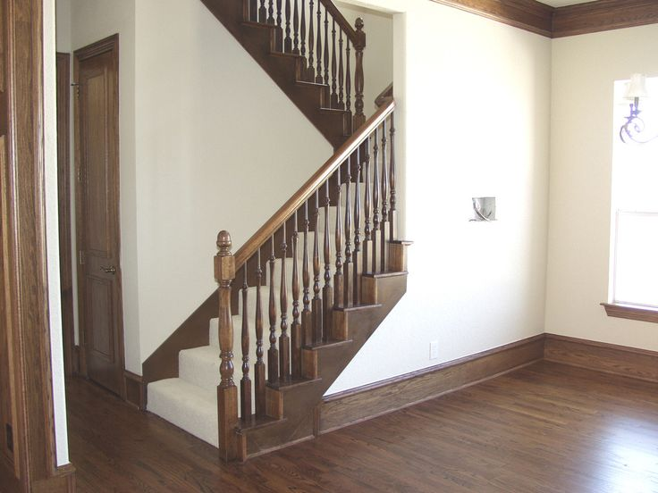 17 best images about staircase remodel ideas on pinterest for Stair remodel houston