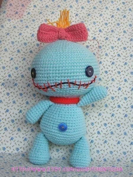 SCRUMP 12.5 inches - PDF amigurumi crochet pattern. $7.00, via Etsy.