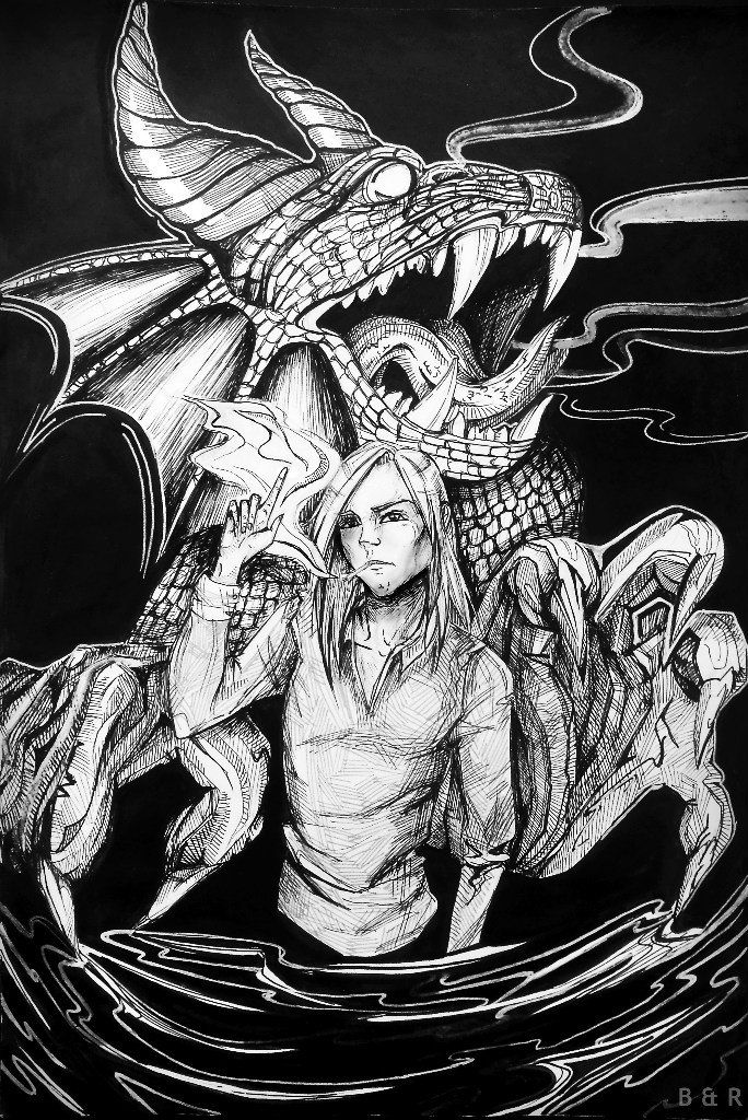 By Black&Red (Sandra Kulagina). https://vk.com/rose_himmler https://vk.com/art_black_red