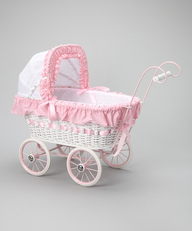Take a look at this Alexandra Doll Play Pram Set by Regal Doll Carriages on #zulily today!