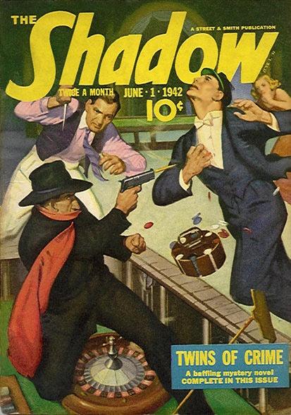 VINTRAD - Vintage Radio Blog: The Shadow Knows...radio show.