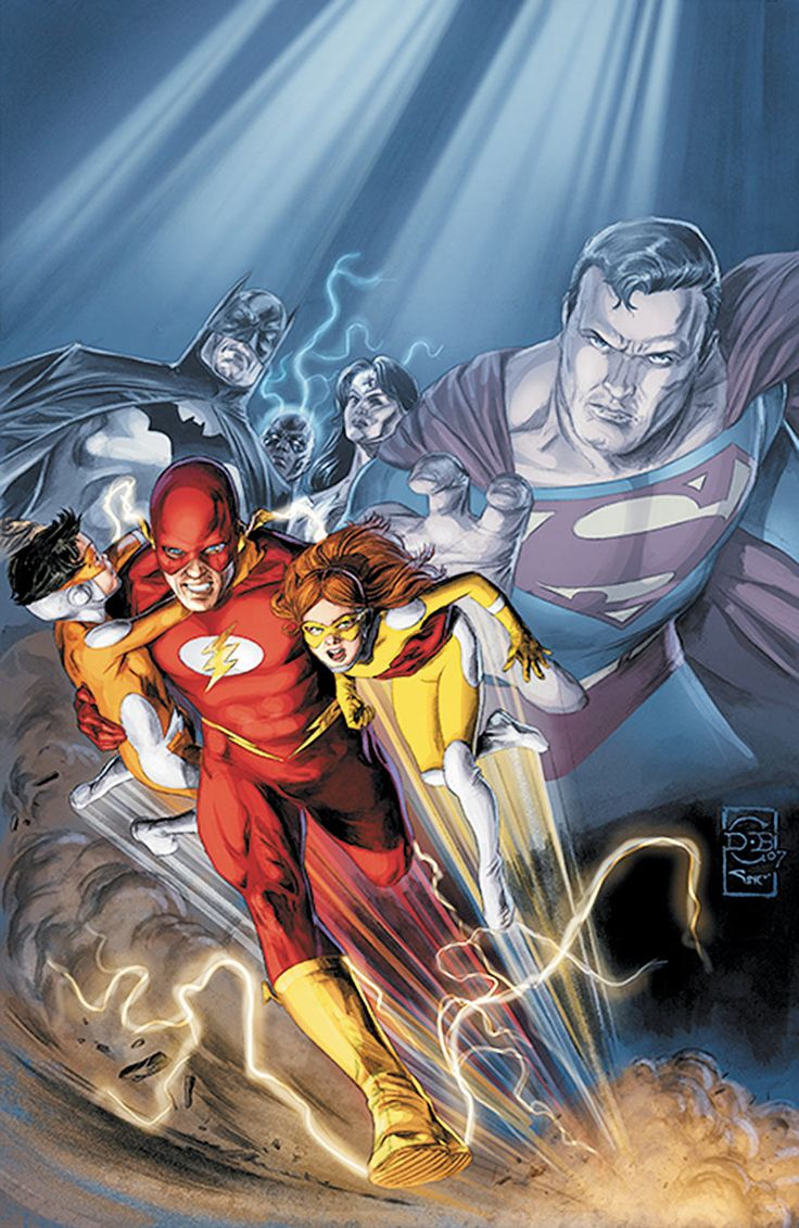 Flash (Wally West) by Doug Braithwaite