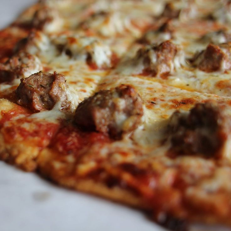 Top 10 tavern style pizzas in Chicago. Yeah, the square-cut ones.