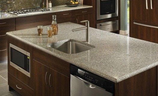 Silestone Kitchen Countertops : Silestone alpina white countertop kitchen decorating