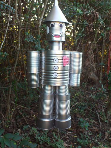 10 ideas about tin can man on pinterest creative garden for Tin can tin man craft