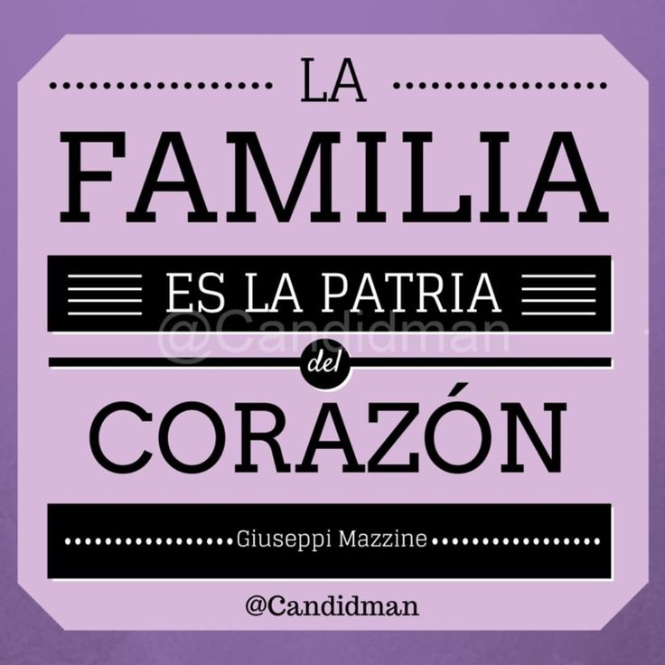 """La familia es la patria del corazón"". - Guiseppi Mazzine vía @Candidman #Candidman #FrasesCelebres #GuiseppiMazzine #Familia #Patria #Corazon #DiaDeLaFamilia #UltraVioleta #CandidmanMX #Instagram #FrasesInstagram #FrasesParaInstagram"