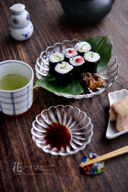 野菜の細巻き寿司 - vegetable SUSHI