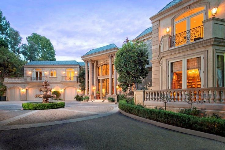 Millionaire homes beautiful homes mansions pinterest for Beverly hill mansions for sale