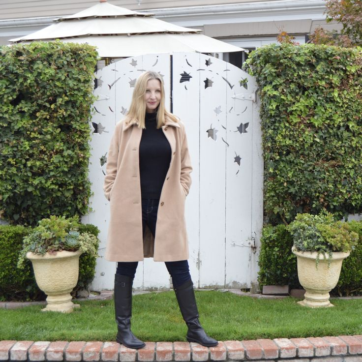 The Perfect Camel Wool Coat from Chadwicks - Fashion Should Be Fun