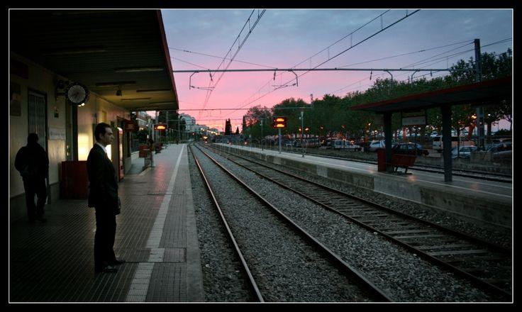 Estació de Calella | by Pablo German Banega Jimenez [Minube]