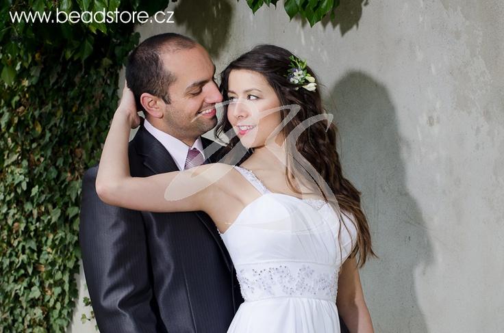 Svatební šaty beadstore