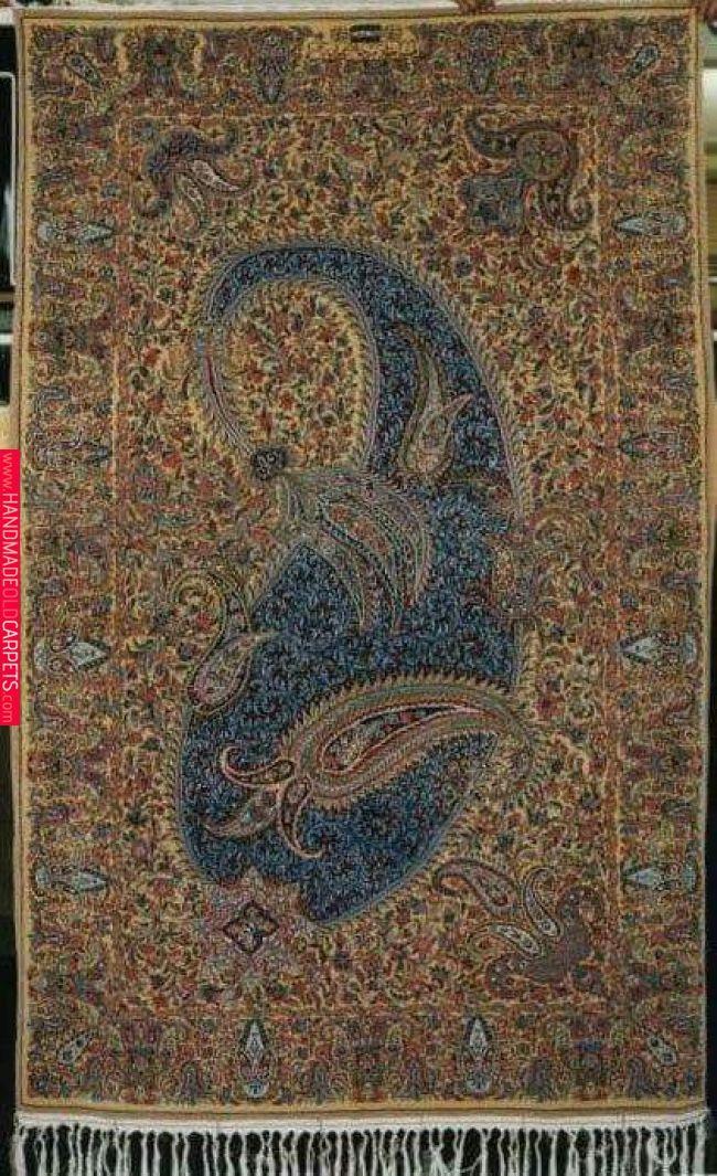 Unique Old Beautiful Persian Carpet Kerman