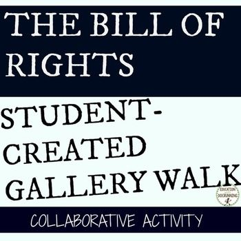 Bill of Rights: Gallery Walk Activity is a mini-project focused on the first 10…
