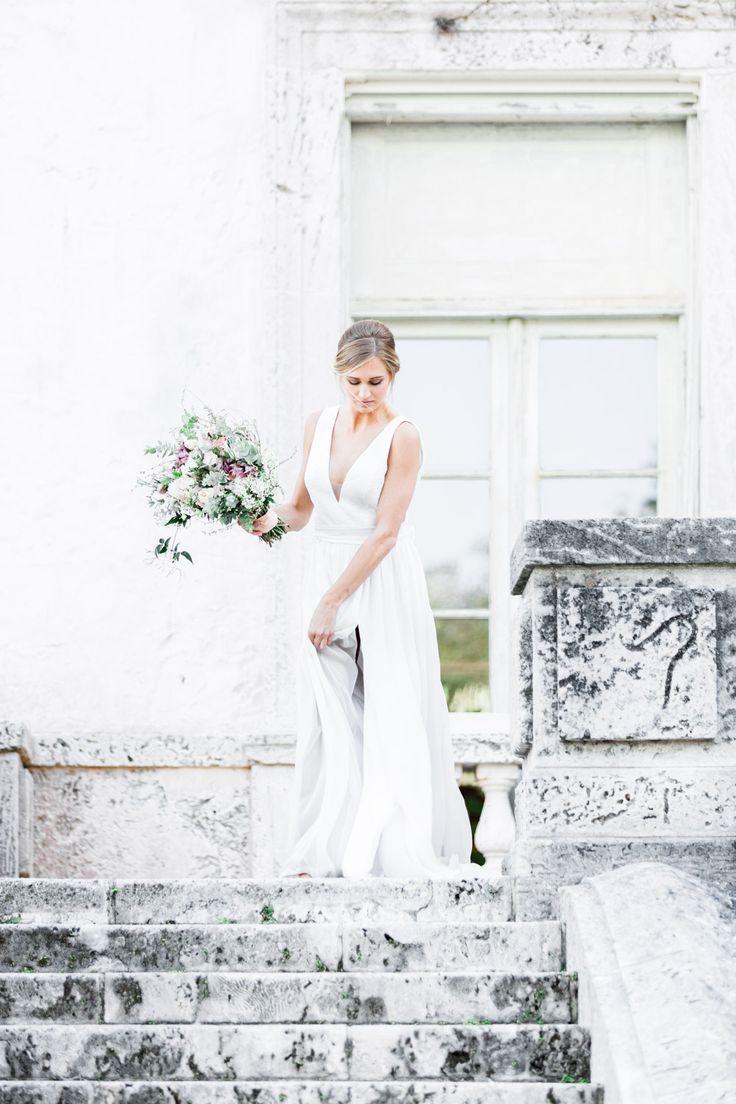 Fine Art Miami Vizcaya Museum Wedding Inspiration