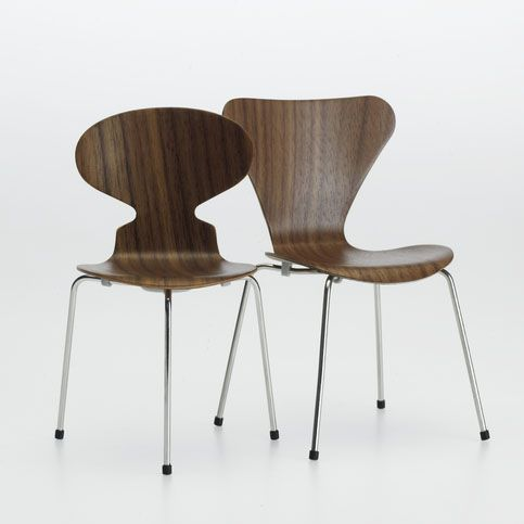 Ant Chair and Series 7 Chair Arne Jacobsen