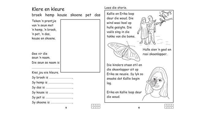 Trumpeter Publishers Afrikaans Geniet Dit Werkboek 3 2nd Lang