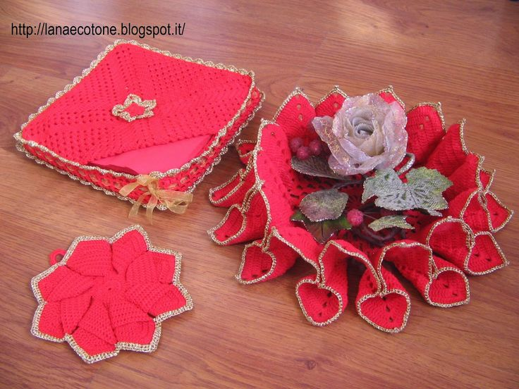 Lana e Cotone (maglia e uncinetto): Uncinetto natalizio