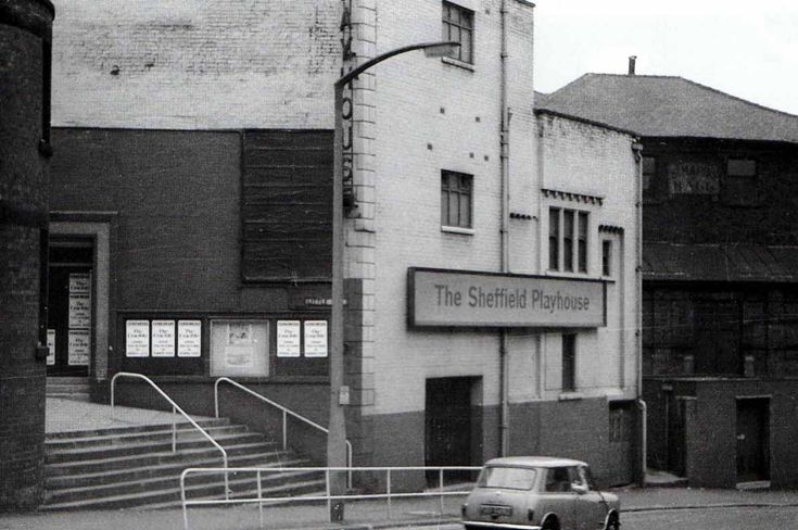 Sheffield Playhouse Theatre. This building was demolished and the company moved to the Crucible Theatre.