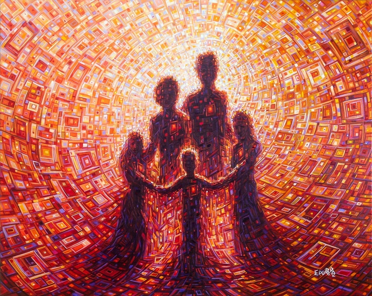 Family Bonds / Oil on Canvas / 80 x 100 cm / 2013  Artist: Eduardo Rodriguez Calzado