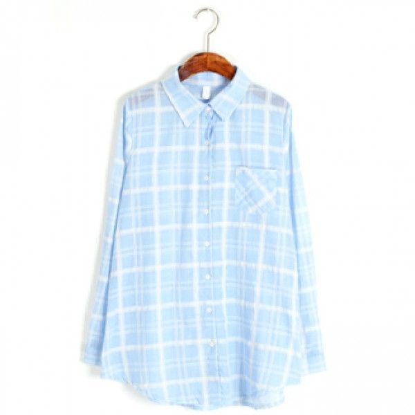 Today's Hot Pick :Plaid Pastel Dress Shirt http://fashionstylep.com/P0000XNC/ju021026/out Keep calm and carry on with this dress shirt. This has a preppy plaid pattern, front button-down closure, pointed collar, breast pocket, long-sleeves with single barrel cuffs, and relaxed fit. The light color palette will keep you at ease all throughout the day. Wear this dress shirt with dressy trousers and pointed-toe pumps.