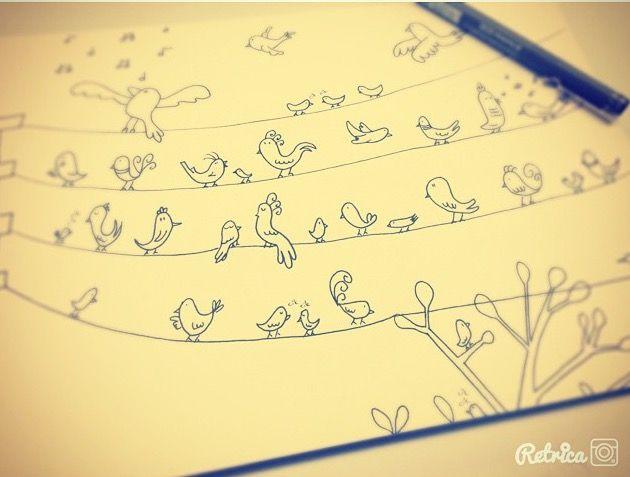 Birds draw