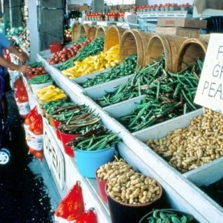 The Atlanta State Farmers Market is considered one of the largest of its kind in the world!