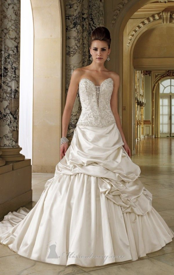 David tutera for mon cheri spring 2012 princess wedding for David s bridal princess wedding dresses