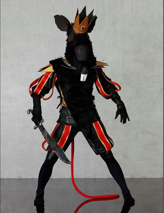 Nutcracker Ballet Costume  Rat King Costume-Theater Costume-Custom  Nutcracker DANCEWEAR-Amazing Detail and Craft-Fun Costume